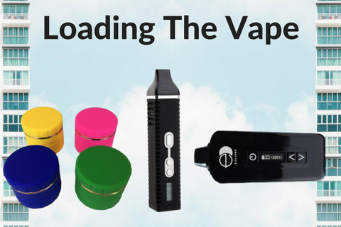 Loading Dry Herb Vapes