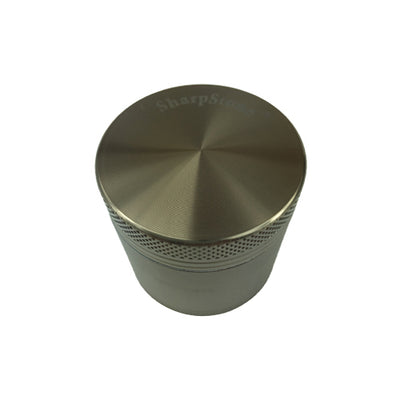 Brown Sharpstone Herb Grinder 4 Piece - Vape Vet Store