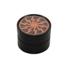 Orange Lightning Bolt 4 Piece Herb Grinder for Sale