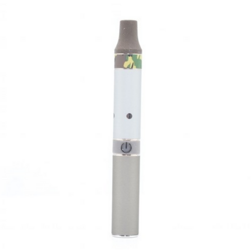 AGO JR vape pen for wax with red silver and green camo