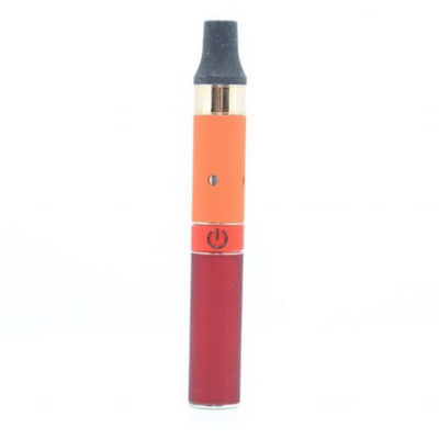 AGO JR Vape Pen for Wax with Red Orange and Gold