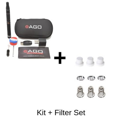 AGO Vaporizer Kit and One Filter Set