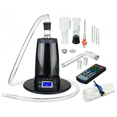 Arizer Extreme Q Portable Desktop Vaporizer Kit and Accessories