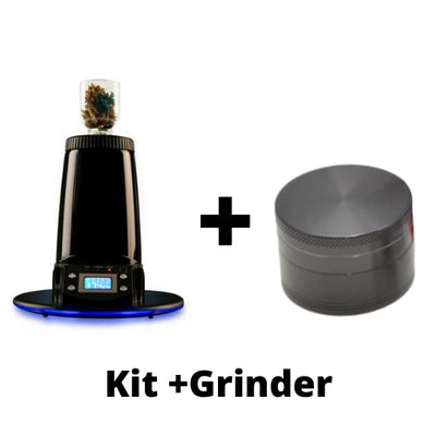 Arizer Extreme Q and Herb Grinder