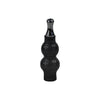 Black Double Bubble Glass Globe Atomizer - Vape Vet Store
