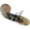 Color Changing Chameleon Glass Sherlock Pipe - Vape Vet Store