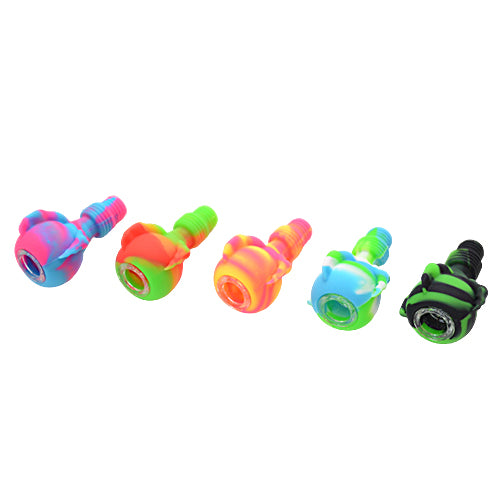 Five Different Color Dragon Claw Silicone Bong Bowl