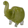 Green Elephant Glass Pipe for Sale - Vape Vet Store