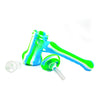 Hammer Bubbler Silicone Pipe with Glass Bong Bowl