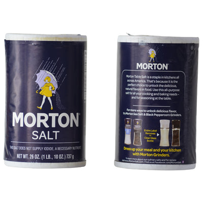 Morton Salt Stash Container for storing your valuables