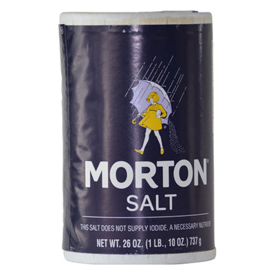 Morton Salt Stash Container for Storing Wax and Shatter