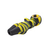 Black and Yellow Silicone Naked Lady Pipe