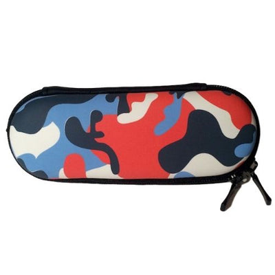 Orange Camo Vape Pen Carrying Case for Protection