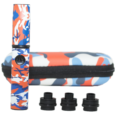 Orange Camo Vape Pen for Wax Travel Kit - Vape Vet Store