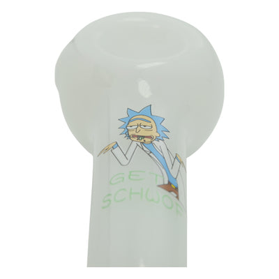 Rick and Morty Spoon Pipe - Rick Looks Sick