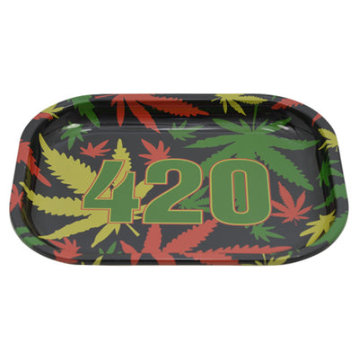 420 Rolling Tray Made of Tin Metal