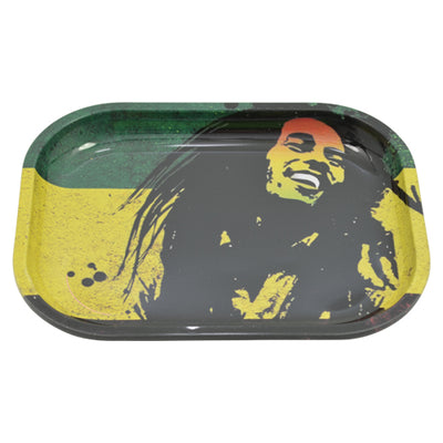 Bob Marley Rolling Tray made of Tin Metal