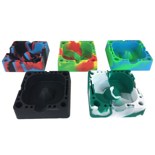 Silicone Ashtrays Available in Five Colors - Vape Vet Store