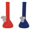 Silicone Beaker Bongs with Slide Pieces