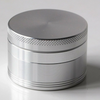 Silver 4 Piece Herb Grinder 55MM