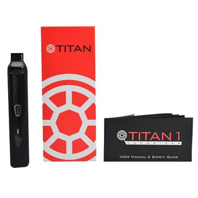 Titan 1 Dry Herb Vaporizer with Packaging and User Manual