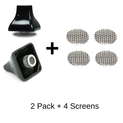 Titan 2 Mouthpieces with 4 vape screens