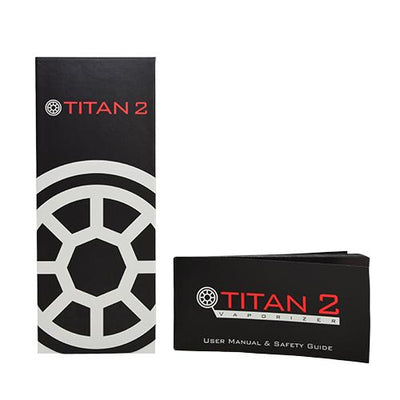 Packaging for the Titan 2 Vaporizer