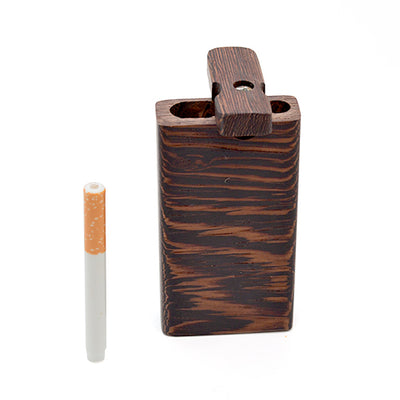 Wenge Wood Dugout Pipe Ceramic One Hitter
