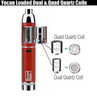 Yocan Loaded Dab Pen Vape Coil Options