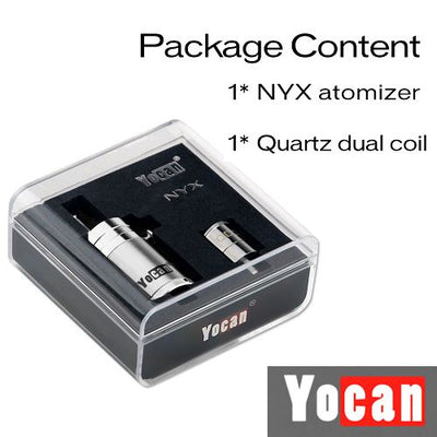Yocan NYX Wax Atomizer Kit with Packaging