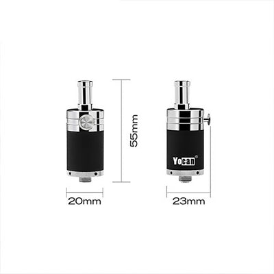 Size of the Yocan NYX wax atomizer
