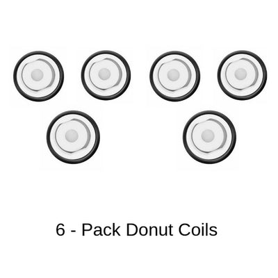 Yocan Cerum Donut Coil Replacements 6 Pack