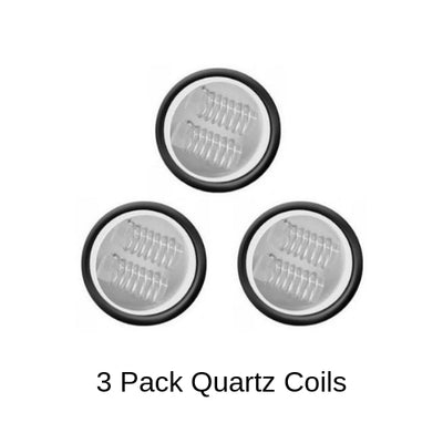 Yocan Cerum Quartz Coil Replacements 3 Pack