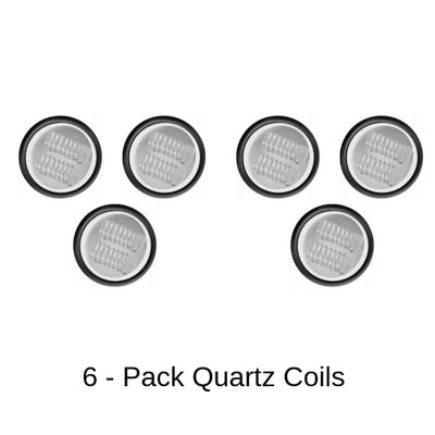 Yocan Cerum Quartz Coil Replacements 6 Pack