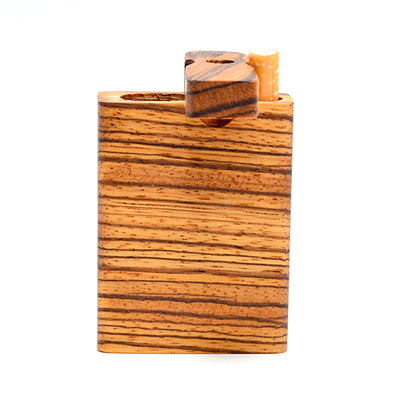 Zebrawood Dugout Pipe Made in USA