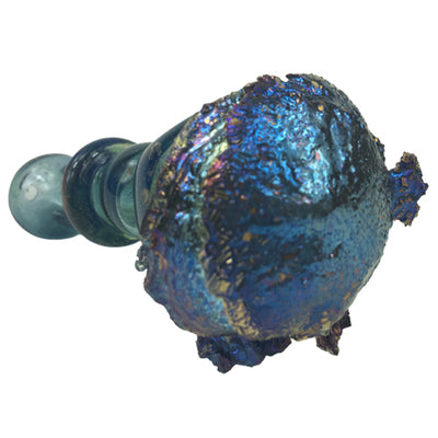Bismuth Infused Glass Bowl by Tony Kazy
