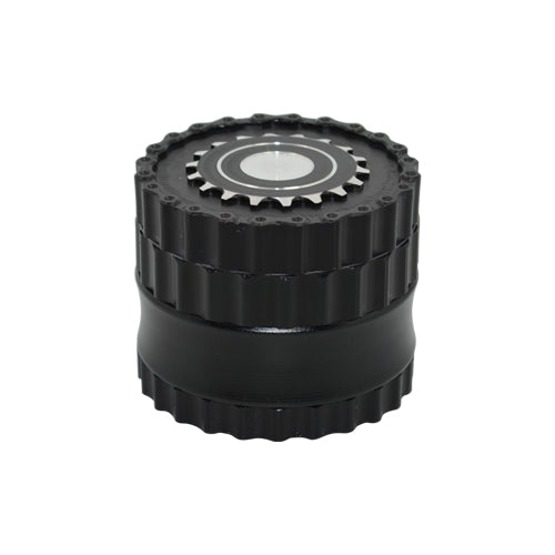 Black 4 Piece Herb Grinder