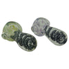 Black Spiral Glass Spoon Pipes for Sale