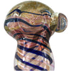 Blue Spiral Glass Spoon Pipe - Vape Vet Store