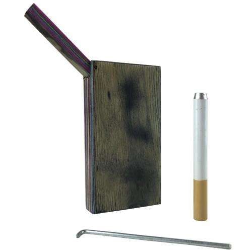 Dugout Pipe with Wooden Case