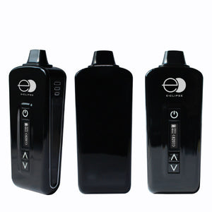 E-Clipse Dry Herb Vaporizer Front and Back View