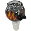 Glass Bowl 14mm male adapter fire