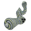 Bottom of the Spiral Glass Bubbler Pipe