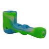 Green White Blue Glass Silicone Sherlock Pipe For Sale