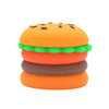 Silicone Hamburger Dab Container