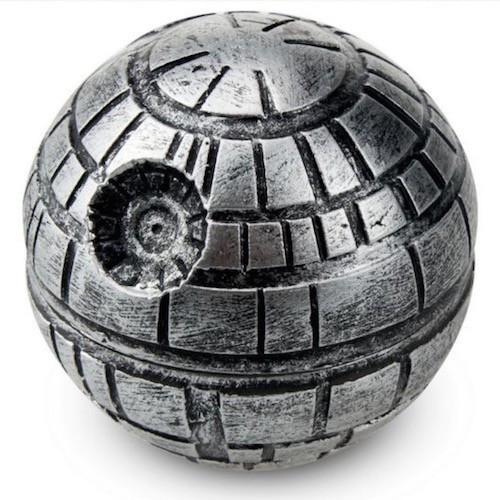 Death Star Herb Grinder with Kief Catcher