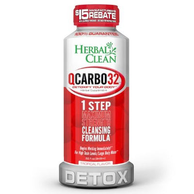 Herbal Clean QCARBO32 Tropical Flavor