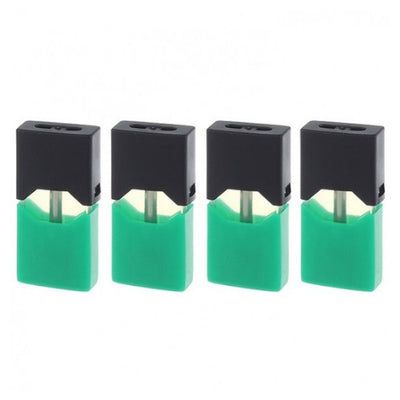 4 Pack of Cool Mint Juul Pod for Sale