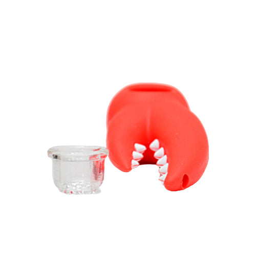 Silicone Lobster Claw Pipe