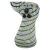 Black Marble Grip to the Spiral Glass Bubbler Pipe